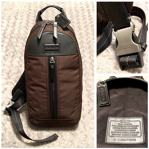 Coach Other - 📦SOLD📦Men's Coach crossbody paid $225